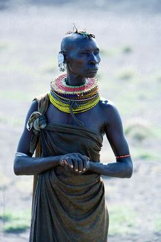 The Turkana are a Nilotic people native to the Turkana District in northwest Kenya, a semi-arid climate region bordering Lake Turkana