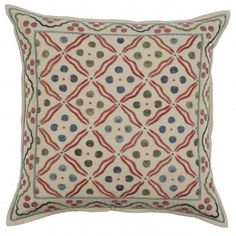 Alidad for Chelsea Textiles Roya Cushion, available from www.englishabode.com