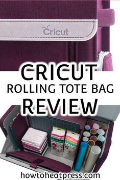 The New Cricut Tote Bags Are Here In Some Wonderful Fresh New Colors - Learn Everything About The Cricut Machine Tote & Cricut Rolling Tote Cricut Heat Transfer Vinyl, Cricut Iron On Vinyl, Patterned Heat Transfer Vinyl, Cricut Explore Projects, Vinyl Projects, Crafts For Teens To Make, Diy For Teens, Vinyl On Glass, Vinyl Decor