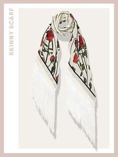 Spring Scarves - Rockins Rose scarf | allure.com