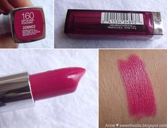 Maybelline Color Sensational Fifth Ave. Mac Lipstick Shades, Maybelline Lipstick, Lipstick Colors, Makeup Lipstick, Makeup Cosmetics, Matte Lipsticks, Mac Makeup, Makeup To Buy, Makeup Kit