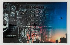 """The Cockpit"" by Mayk Azzato, 100 x 150 cm, 37811 #KARE #KAREDesign #Azzato #MaykAzzato #Photographic #Art"