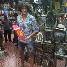 Marouane Fellaini in Morocco
