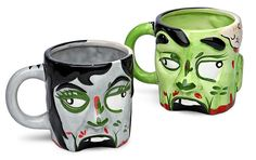 ThinkGeek :: Ceramic Zombie Mug