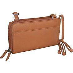 JAGENIE Womens Clutch Leather Women Envelope Bag Evening Handbag Purse Party Retro Black