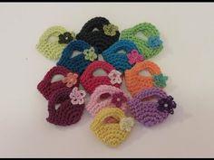 ▶ كروشيه شنطة صغيرة Crochet Mini Bag - YouTube