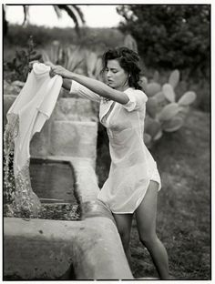 """akarobertg:  wayfaringheart: """"You've seen it, I'm sure, the way laundry was once done by beating the clothes against flat rocks by the river, rubbing and twisting the fabric until it was clean… fresh…  I want to love you like that. I want to press our hearts together so hard we feel like frontier women cleaning clothes. I want to love you until afterwardwe are still, silent… stone washed."""" — Peregrine (via youreyesblazeout)"""