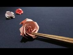 [How to ORIGAMI] Rose