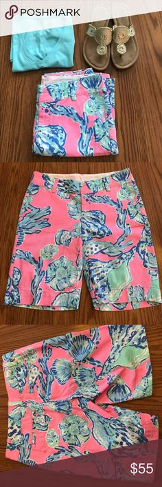Lilly Pulitzer Barefoot Princess chipper shorts NWT Lilly Pulitzer Barefoot Princess Cooper shorts. Lilly Pulitzer Shorts