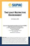 ADVOCACY BRIEF #2:  THE LEAST #RESTRICTIVE #ENVIRONMENT