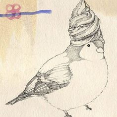 Lovely birds by Kate Wilson