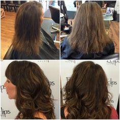 "Can you say, ""wow?!"" We are obsessed with Amy's gorgeous hair transformation. Thank you for coming to Eclips!  Reserve with Stephanie today for your total makeover at (703) 327-9408 or visit http://eclipsashburn.com"