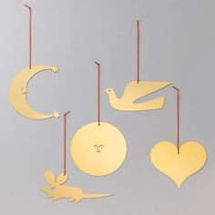 1965 Dove Alexander Girard Vitra Girard Ornaments