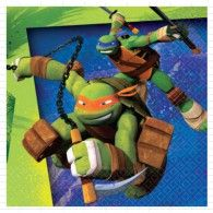 You can be a ninja too! Use our Ninja Turtles Beverage Napkins at your next party! Features a couple of your Ninja Turtle pals in action. Each measures x Includes 16 paper napkins per package. Turtle Birthday Parties, Ninja Turtle Birthday, 4th Birthday, Birthday Ideas, Online Party Supplies, Kids Party Supplies, Ninja Turtle Party Supplies, Ninja Party, Teenage Mutant Ninja Turtles