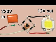 Hello friends, today in this video I have shown how to make a to converter circuit. Please note, this circuit is not isolated from mains so don't to. Electronics Mini Projects, Hobby Electronics, Electronics Components, Electronic Circuit Design, Electronic Engineering, Led Projects, Electrical Projects, Electrical Transformers, Diy Rocket