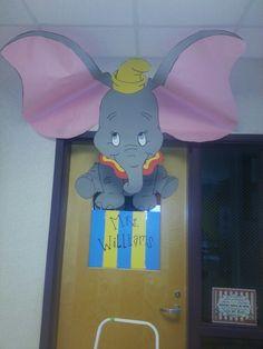 Disney classroom door