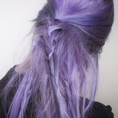 When I& too tired to brush my hair, I just wear it like this Messy Hairstyles, Pretty Hairstyles, Hair Inspo, Hair Inspiration, Just Kids, Trigger Happy Havoc, Lilac Hair, Aesthetic People, Tips Belleza