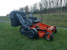 "2004 Husqvarna MZ 5225 52"" Deck Commercial Hydro Zero Turn Lawn Mower w/ Bagger #Husqvarna"