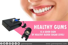 Elevated blood sugars increase the risk of developing gum disease. It also make it harder to keep blood sugar levels in check. Protect your gums by keeping blood sugar levels as close to normal as possible. Brush, floss and rinse. See your dentist at least twice a year. Healthy reminder from http://ebay.to/1U9fDl6  #BloodSugar #GumDisease #DentalCare # Gainexpress