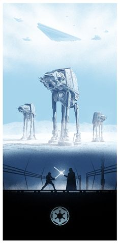 Marko Manev's New Star Wars Triptych Is Superb… Queue The Music