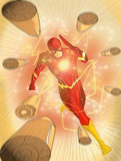 The Flash by patoftherick on DeviantArt Flash Comics, Arte Dc Comics, Kid Flash, Flash Art, Marvel, Dc Speedsters, Sailor Jerry Flash, Flash Barry Allen, Flash Wallpaper