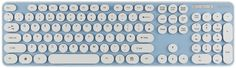 KBC-8002U - Blue Round Key Chiclet Style Keyboard