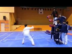 Watch This Martial Artist Do A Quadruple Kick And Land On His Feet