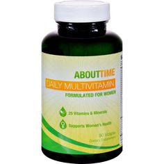 About Time Multi-vitamin - Daily - Women - 90 Vegetarian Capsules