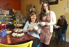 High tea is served with a raw vegan twist at Indigo Food Café in Vancouver. #vegan