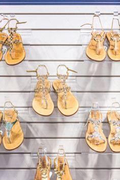 Get custom-fit for handmade, Italian leather sandals at Via Capri on Worth Avenue!