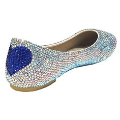 Marc Defang New York Women's Bridal Sapphire Heart Ab Crystal Flats (9.5 M US) Marc Defang New York http://www.amazon.com/dp/B00SK0KEQC/ref=cm_sw_r_pi_dp_vTfcvb0V8D027