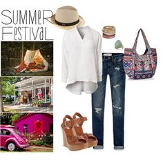 """summer style"" by roxcherie on Polyvore"
