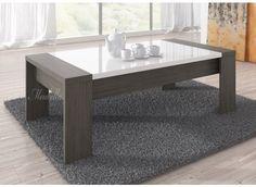 Salontafel Arulo is een praktisch en modern vormgegeven tafel welke geschikt is voor ieder type interieur. Het meubel is uitgevoerd in grijs eiken met hoogglans wit en heeft 4 stevige poten.
