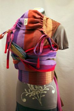 3c26cb04d04 Girasol Felice ~ After (Thanks to Obimama!)...... Baby Wearing WrapWoven ...