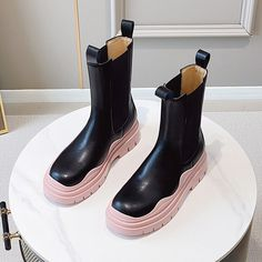 Leather Sandals Flat, Leather Chelsea Boots, Pink, Bags, Accessories, Shoes, Color, Fashion, Handbags