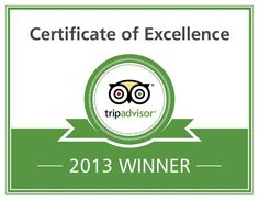 2013 Certificate of Excellence Winner