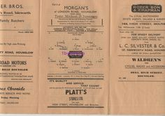 1948 Hounslow Town v Tooting Mitcham non League Football Programme London Cup Football Program, Football Cards, Everton Fc, Programming, January, How To Get, London, Vintage