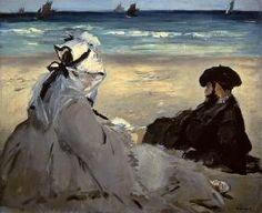 Edouard Manet - On the Beach