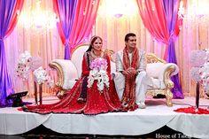 indian wedding reception lighting http://maharaniweddings.com/gallery/photo/8683