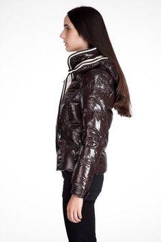 Piumini Moncler Quincy modelli femminili marrone TAGLIA: 0 1 2 3 4 (XS-XL)