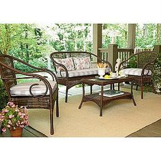 Patio Furniture On Pinterest Jaclyn Smith Country