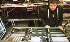 Bastille FOH Engineer talks to Sound Hub about mixing desks, microphones, and the equipment he can't live without