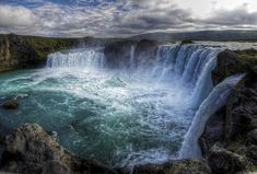 Selfoss Waterfall  - Selfoss waterfall is located 30 Kms above Dettifoss Waterfall.
