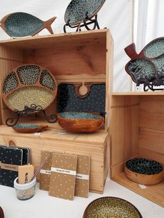 handmade dishes from The Bocket Store