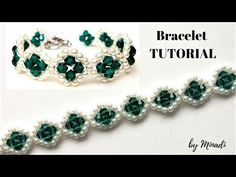 Jewelry making tutorial. Beading pattern. Beaded bracelet, Learn how to bead. - YouTube