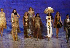 Clausura de los JJOO Londres 2012, la moda sube al escenario mundial