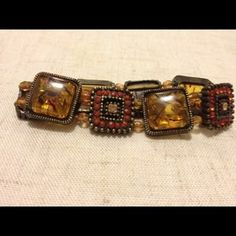 I just discovered this while shopping on Poshmark: Amber bracelets. Check it out!  Size: OS