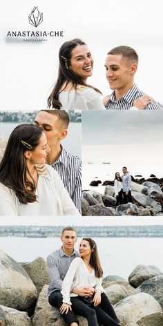 It turned out so light, and they look just adorable! 🖤We took these photos during golden hour, which gives beautiful light and color for skin. See the result on the link! Engagement Photo Inspiration, Engagement Photos, Wedding Inspiration, Vancouver Photos, Spring Photos, Romantic Photos, Family Photo Sessions, How To Pose, Golden Hour