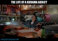 Drama addict. I can't be the only person who felt guilty for poor posture while watching the drama from a tablet.