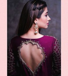 Blouse Design Catalogue For Best Fancy design Blouse Design Saree Blouse Neck Designs, Fancy Blouse Designs, Bridal Blouse Designs, Saree Blouse Models, Blouse Designs Catalogue, Designer Blouse Patterns, Dress Patterns, Stylish Blouse Design, Back Neck Designs